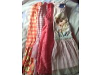 Girls dresses aged 5-6yrs