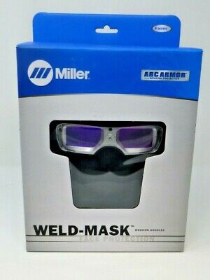 Miller Weld-mask Auto Darkening Goggles 267370 Fast Free Shipping