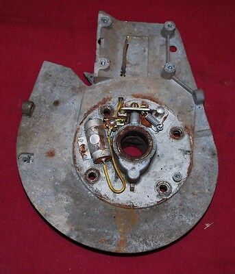 Briggs Stratton Model Wmb Back Plate Gas Engine Motor 4