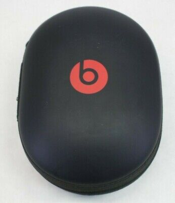 OEM Beats Studio 2 3 Wireless Headphones Hard Zipper Case, Case Only - Black/Red