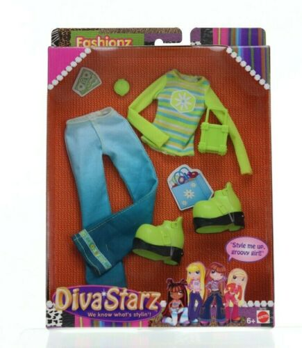 Fashionz Diva Starz, Mattel, Clothing, New in Package, Groovy Girl