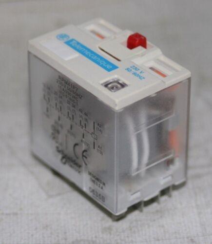 TELEMECANIQUE SCHNEIDER ELECTRIC  POWER RELAY 230V RPM +OPTIONS