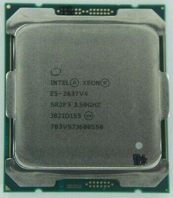 Intel Xeon E5-2637 v4 3.50GHz Quad Core SR2P3 (CM8066002041100) Processor