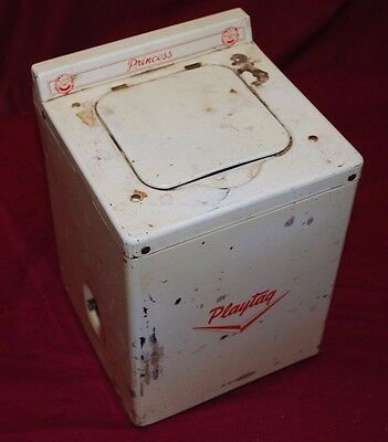 Antique Princess Playtag Maytag Toy Washer Gas Engine Motor Washing Machine 2