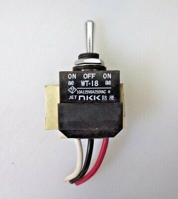 Nkk Toggle Switch Spdt Panel Mount