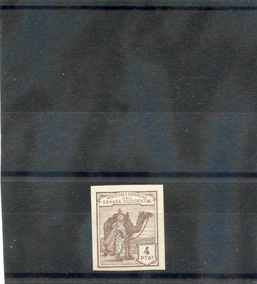 SPANISH SAHARA NE9(SG 11var)(*)VF NGAI 1910 UNISSUED 4P CHOCOLATE, IMPERF $350 comprar usado  Enviando para Brazil