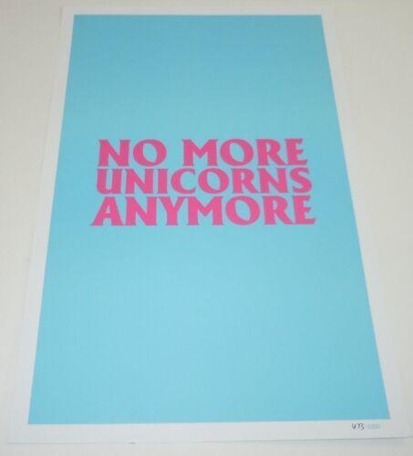 Gorillaz The Now Now Art Print Poster 11x17 PROMO No More Unicorns Anymore #d