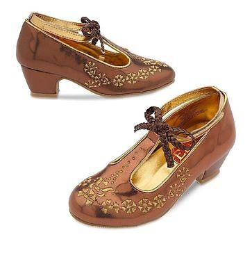 Nwt Disney Store Elena Of Avalor Costume Shoes Dress 7 8 9 10 11 12 13 1 2 3