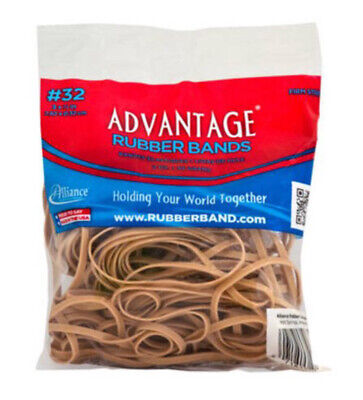 Advantage Rubber Bands Large Size 32 3 X 18 Heavy Duty 18 Lbs Made In Usa