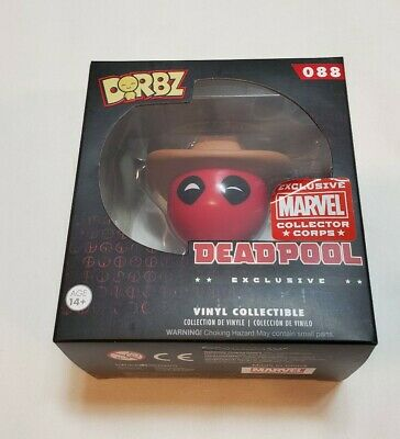 Funko Dorbz Cowboy Deadpool MCC Collector Corps