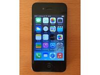 Apple iPhone 4 - Unlocked and in a good cosmetic condition with USB Cable