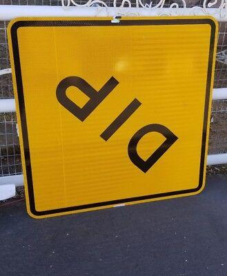 New Dip  Aluminum California Caltrans Highway Sign Nos 30X30