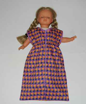 Puppenschlafsack lila,für 46/48cm Puppen (z.B.Baby Annabell) Puppenkleider Tiere