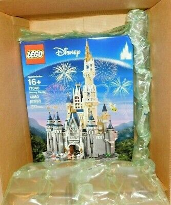 LEGO DISNEY CINDERELLA'S CASTLE 71040 NEW Sealed Still in Outer Shipping Box