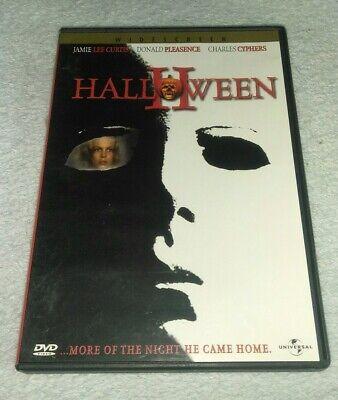 Halloween II DVD Jamie Lee Curtis *HORROR *HALLOWEEN
