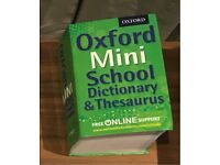 Mini Dictionary and Thesaurus
