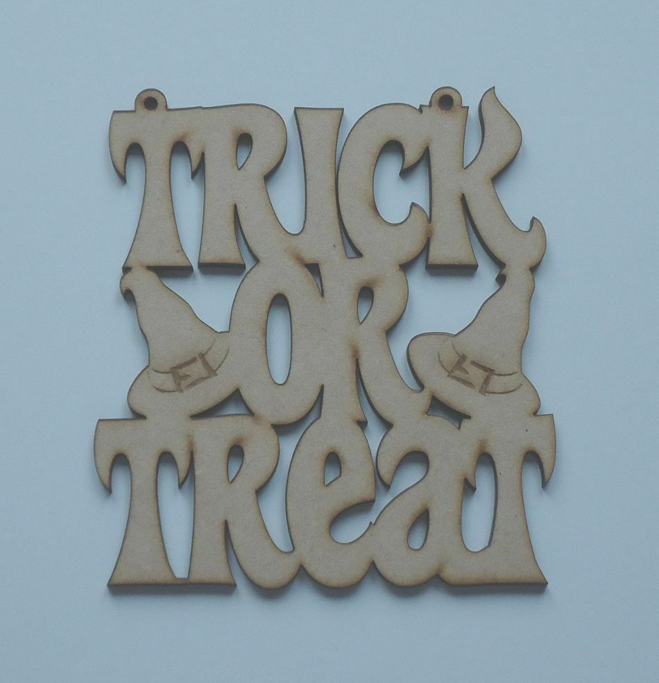 Trick or Treat Halloween Hanging Sign