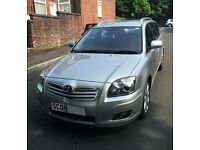 2008 TOYOTA AVENSIS TR D-4D SILVER MANUAL 150bhp PERFECT FAMILY CAR SAT NAV