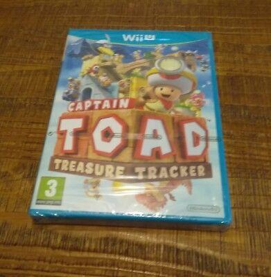 Jeux vidéo Captain Toad Treasure Tracker - nintendo Wii U neuf blister