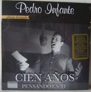 Pedro Infante Cien Anos Pensando En Ti 4 CD's + 1 DVD EDICION LIMITADA SHIPPING!