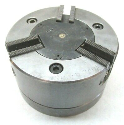 Kitagawa 5 Three-jaw Cnc Lathe Power Chuck W A2-5 Mount - Hj-5