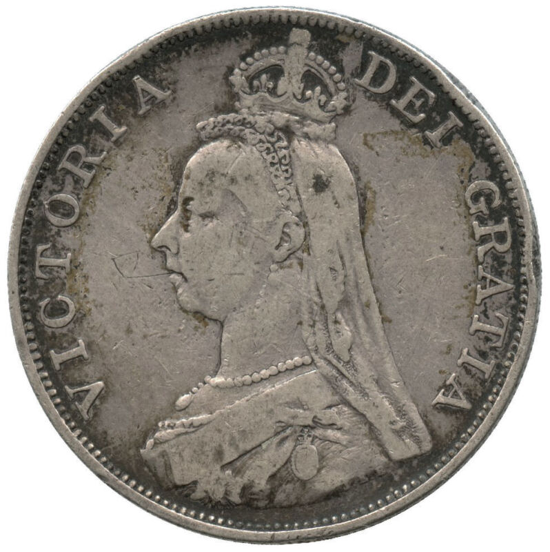 1889 Great Britain Silver Florin