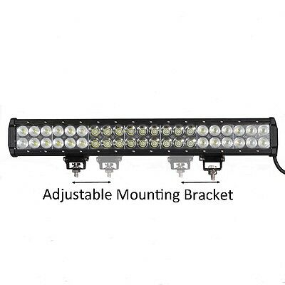 Spot/Flood 20in 126W Cree LED Work Light Bar Offroad 4WD Truck ATV SUV Jeep Lamp