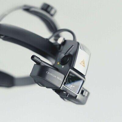 Heine Omega 500 Binocular Indirect Ophthalmoscope Plus Proper Transformer.