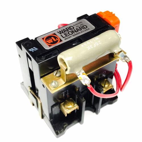 7001-7030-22 Ward Leonard Contactor, 2-Pole, 40A 500VDC, 208-220V Coil