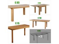 NEW tables from £65