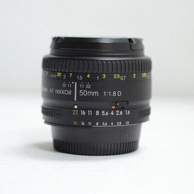 Nikon NIKKOR 50mm f/1.8  D Lens 50.8D Non Built-in Motor type