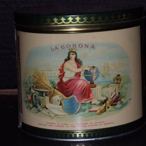 La Corona Cigar Tin Can