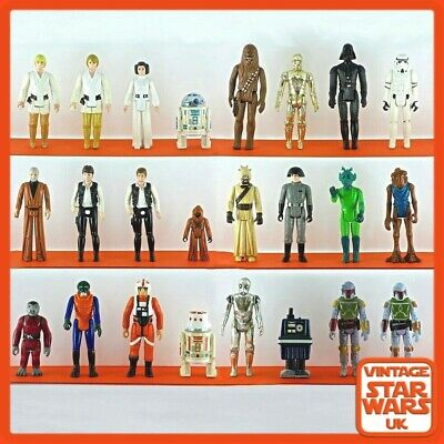 Vintage Star Wars A New Hope Original Loose Action Figures 1977 - 1979