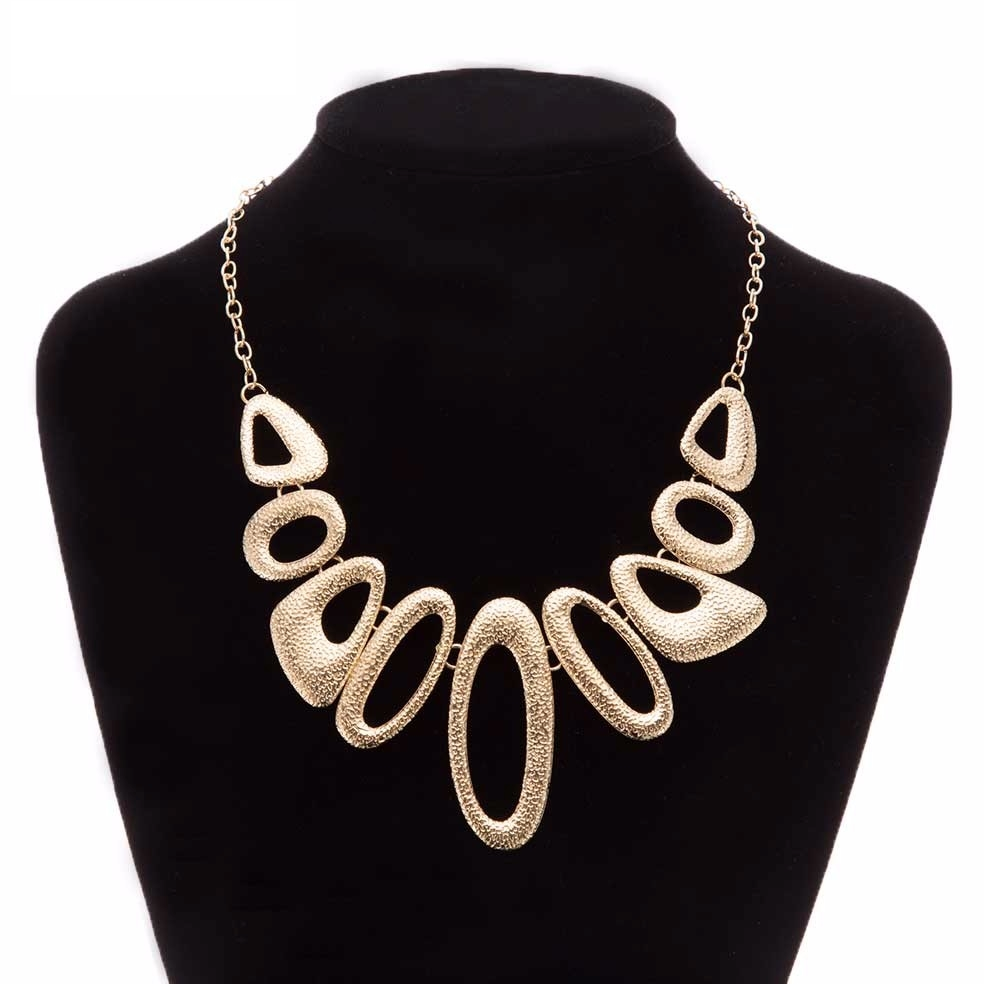 Jewellery - Ladies Fashion NECKLACE Chunky Retro Jewellery STATEMENT Costume Chain Style