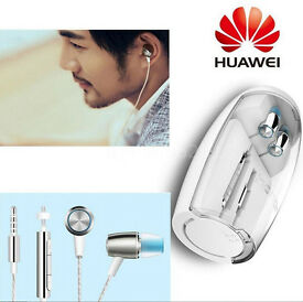 New Geniune Huawei Honor AM12 Engine Earphone In-ear Binaural Stereo 3.5mm Jack Headset