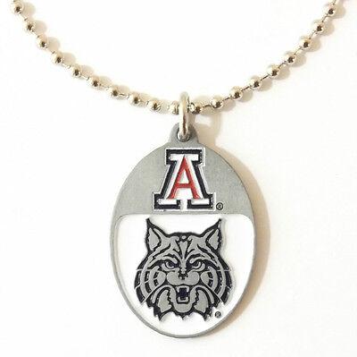 ARIZONA WILDCATS LARGE PENDANT NECKLACE 24201 new college sports jewelry