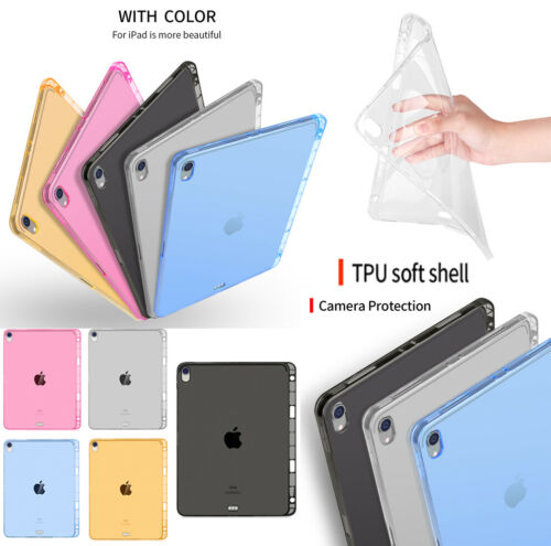 soft clear tpu case cover w pencil
