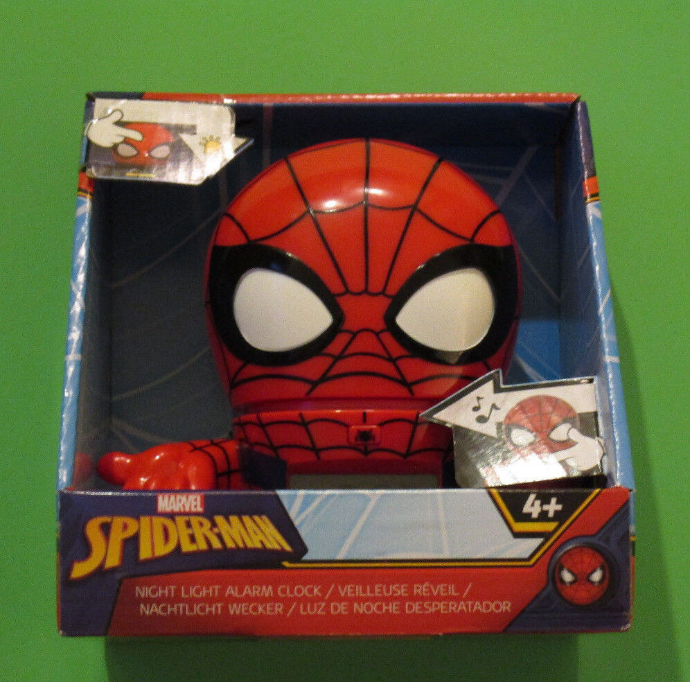 Bulb Botz Marvel Spiderman talking night light  alarm clock