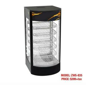 Electric Glass Display Pizza/Food Warmers and Panini Grills--Brand New Display and Warming Equipment