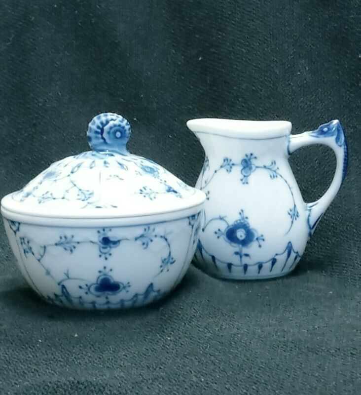 Bing and Grondahl  BUTTERFLY - Creamer. 94 And Sugar 392