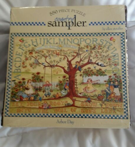 Jigsaw Puzzles 550 Piece By Ellen Stouffer Arbor Day NEW - $20.00