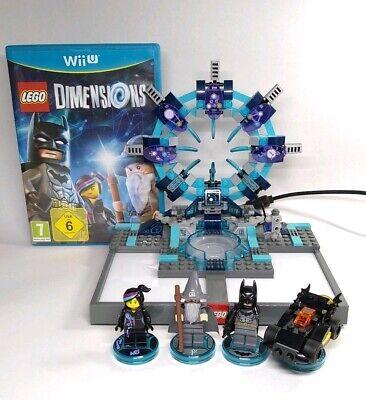 Lego Dimensions WiiU Wii U Starter Pack 71174 w Portal & Minifigures - Complete