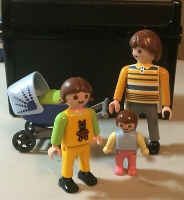 Playmobil 4408 Dad with baby and stroller for sale  Paradise