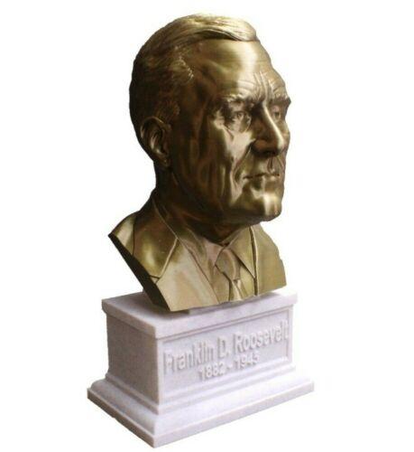 Franklin D Roosevelt FDR 12 inch 3D Printed Bust US President #32 Art FREE SHIP