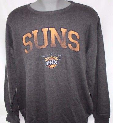 - NEW Mens MAJESTIC Phoenix Suns Grey Long Sleeve Big & Tall NBA Thermal Shirt