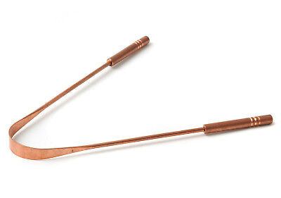 Zungenreiniger Deluxe Aus Kupfer Farblos von Ayurdeva