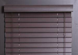 50mm PVC venetians -  Dark Brown from $5 Toongabbie Parramatta Area Preview