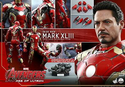 1/4 Hot Toys Ironman 3 Mark 43 QS005 Iron Man Mark XLIII Mint Best Price New