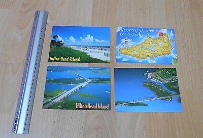 Hilton Head Isalnd Post Cards x4