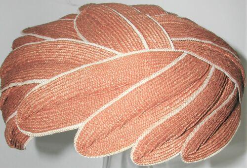 Vintage Ladies EMME Edith Day Hat, hand stitches Flapper 1920s